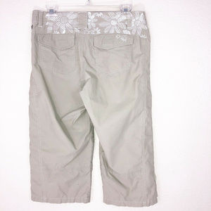 Kuhl Dry Stretch Outdoor Hiking Cropped Pants Sz 8